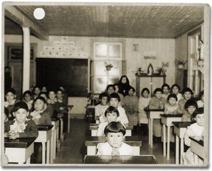 residential-school-children