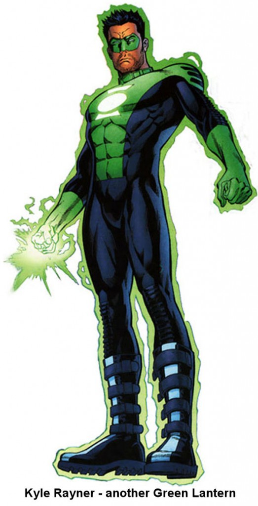 Image: Kyle Rayner -- another Green Lantern
