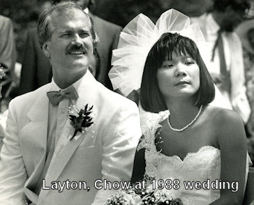 Image: Jack Layton and Olivia Chow at 1988 wedding