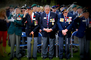 Image: Veterans at Dieppe