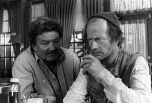 "Bruno Gerussi and Robert Clothier in ""The Beachcombers"""