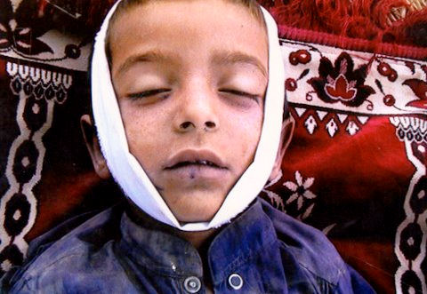 Pakistani child Syed Wali Shah, 7, killed by drone