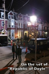"""On the set of """"Republic of Doyle"""""""