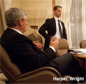 Stephen Harper and Nigel Wright