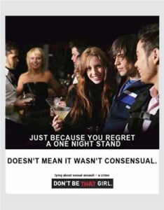 Don't Be That Girl poster