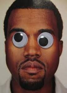 Guy with google eyes