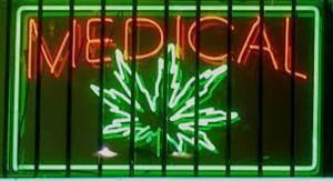 Medical marijuauna sign