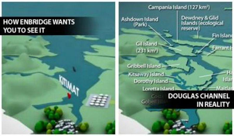 Enbridge-Douglas Channel comparison