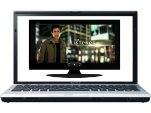 A TV on a computer screen