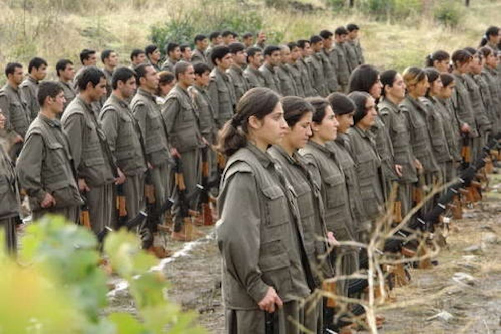 PKK women soldiers