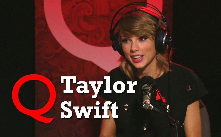 Taylor Swift on Q