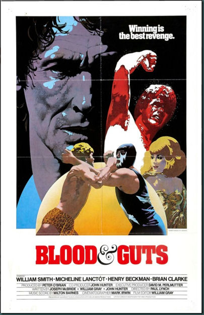 """Blood and Guts"" poster"