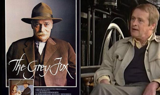 """The Grey Fox"" poster and John Hunter"