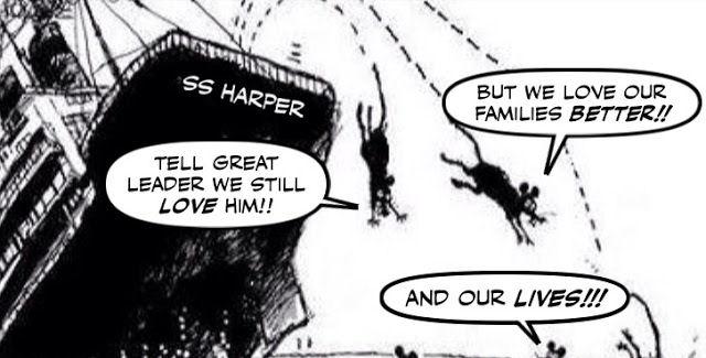 Cartoon: Conservatives jumping ship