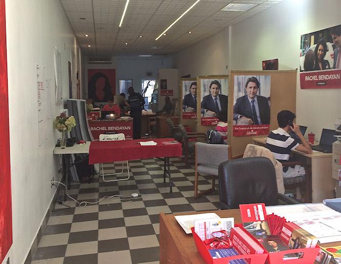 Bendayan campaign office