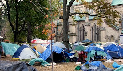 Images: Tents at Occupy Toronto