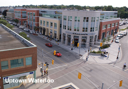 Image: Street in Uptown Waterloo