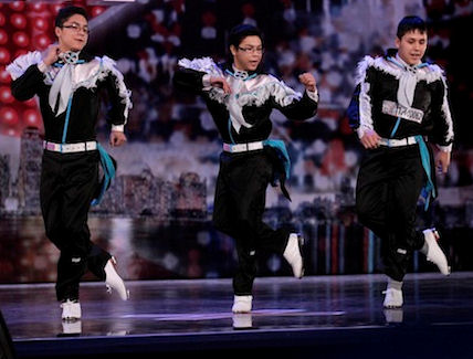 "Image: Dancers ""Saqkeenqs Finest"" on ""Canada's Got Talent"""