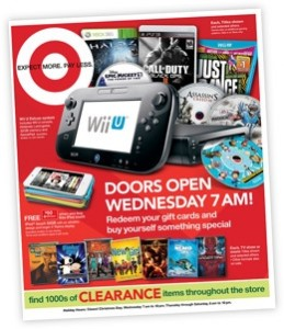 Target Boxing Day flyer