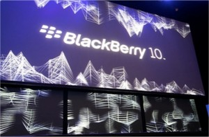 Blackberry 10 launch banner