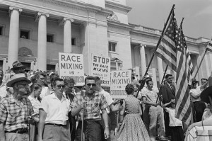 "Anti ""race-mixing"" demonstration"