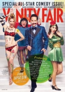 Cover of January 2013 Vanity Fair