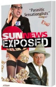 "Fictitious ""Sun News Exposed"" cover"