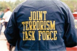 Man in Joint Terrorism Task Force jacket