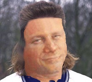 Harper with mullet