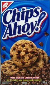 Chips Ahoy box