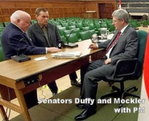 Senators Duffy and Mockler with the PM