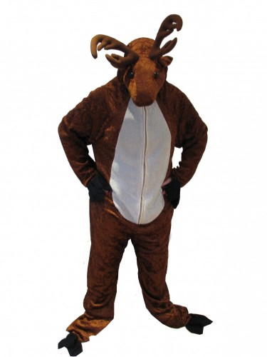 Guy in deer costume
