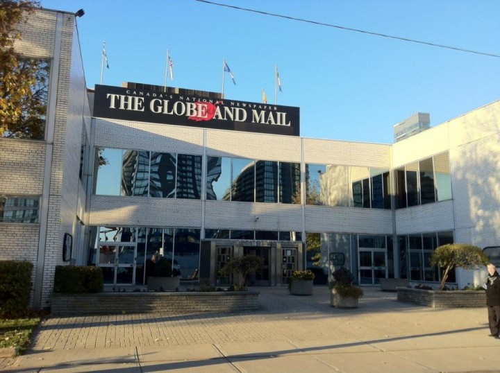 Globe and Mail offices, Toronto