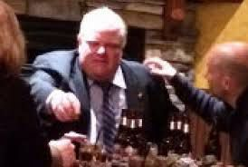 Rob Ford in bar
