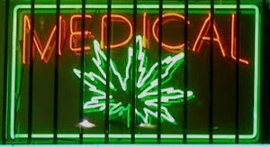 Medical marijuauna sign