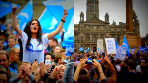 Scottish referendum rally, Glasgow