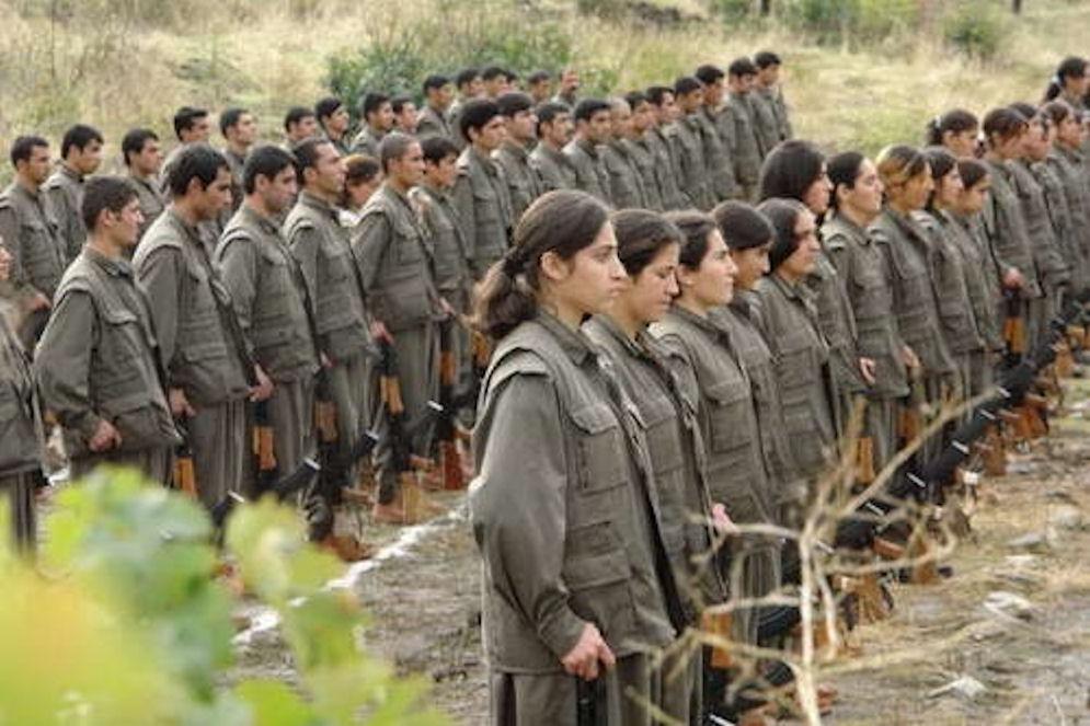 PKK women soldiers