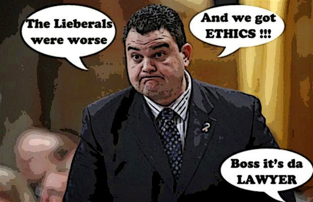 Del Mastro cartoon