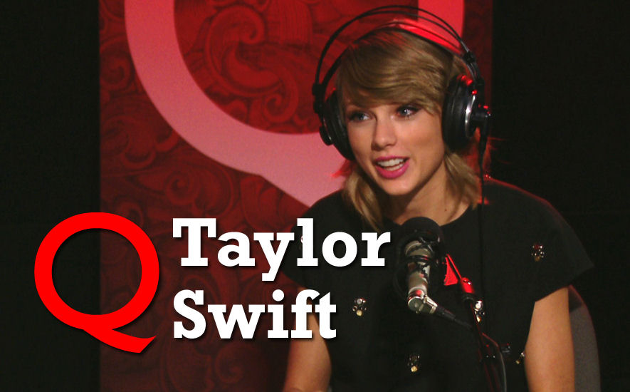 Taylor Swift on Q